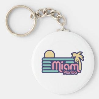 Miami Keychain