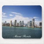 Miami la Florida Alfombrilla De Raton