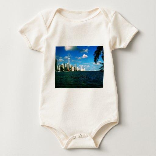 Miami la Florida Body Para Bebé