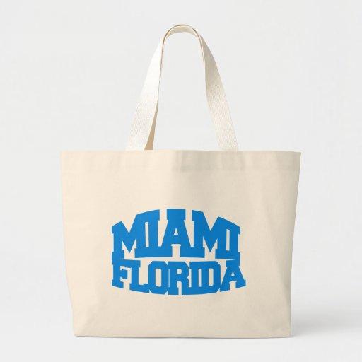 Miami la Florida Bolsa Tela Grande