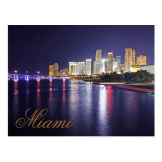 Miami, la Florida, ciudad del progreso Postales