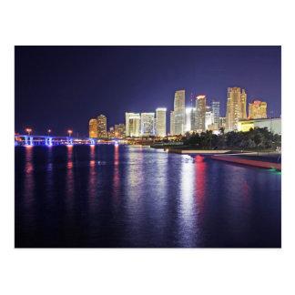 Miami, la Florida, ciudad del progreso Tarjeta Postal
