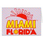 Miami, la Florida Felicitaciones