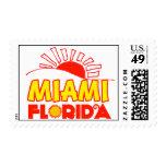 Miami, la Florida Franqueo