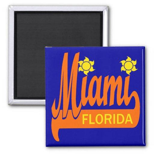 Miami, la Florida Imán Cuadrado