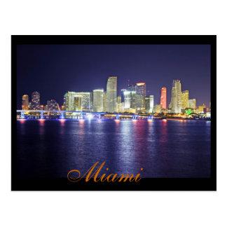 Miami, la Florida, la ciudad de la sol Tarjetas Postales