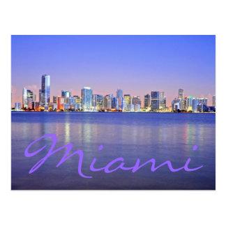 Miami, la Florida, los E.E.U.U. Tarjetas Postales