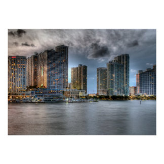 Miami, la Florida Póster