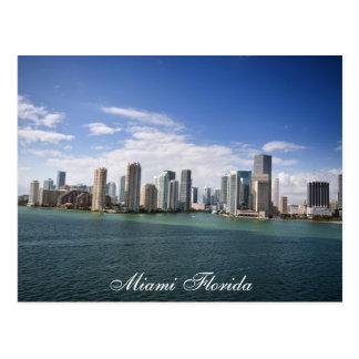 Miami la Florida Tarjeta Postal