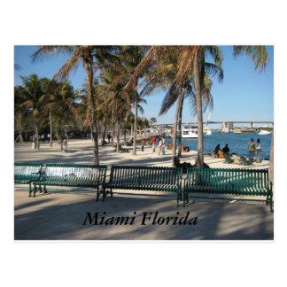 Miami la Florida Tarjetas Postales
