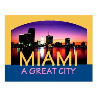 Miami la Florida una gran postal de la ciudad