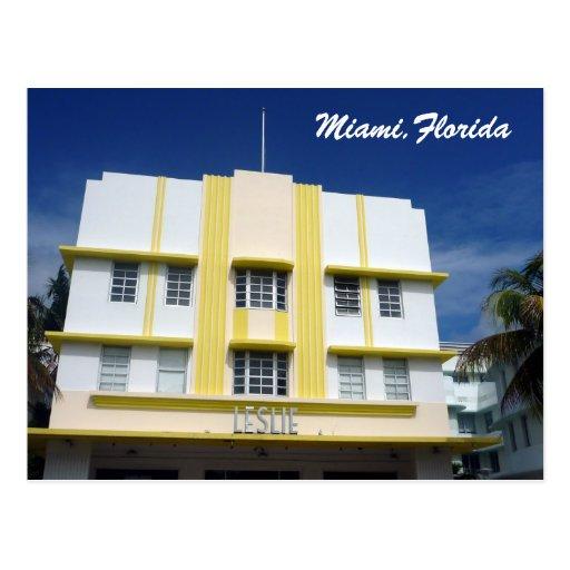 Miami Leslie Tarjetas Postales