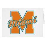 Miami Letter Stationery Note Card