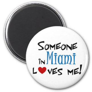 Miami Love Fridge Magnet