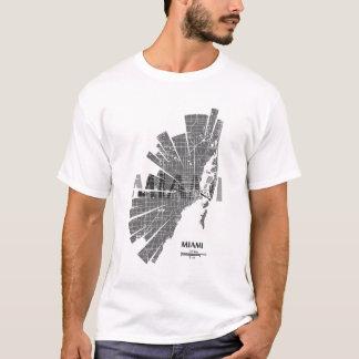 Miami Map T-Shirt