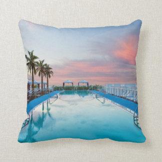 Miami Memories Throw Pillow