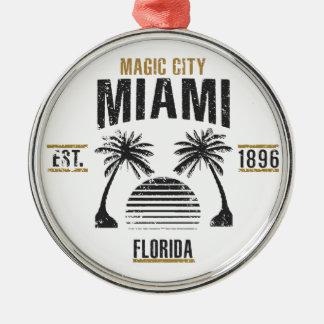 Miami Metal Ornament