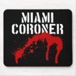 Miami Metro PD Coroner Mouse Mats