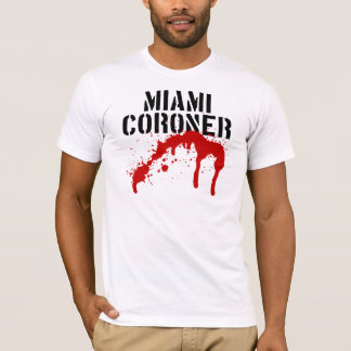 Miami Metro PD Coroner T-Shirt