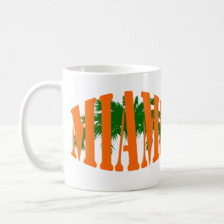 Miami Classic White Coffee Mug