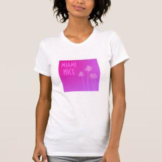Miami Nice ladies t-shirt