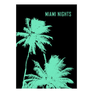 Miami Nights Poster