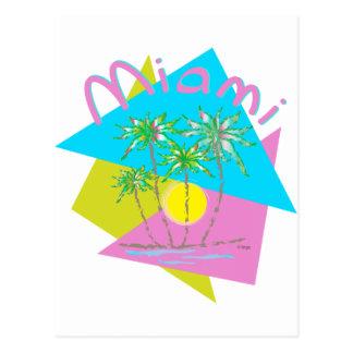 Miami Palms Sun Postcard