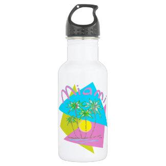 Miami Palms Sun Water Bottle
