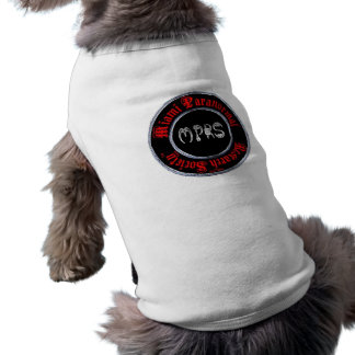 Miami Paranormal Research Society doggie wear Tee