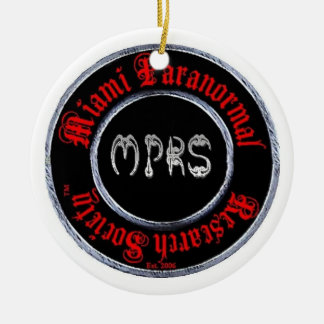 Miami Paranormal Research Society ornament