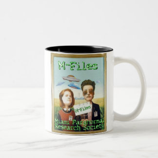 Miami Paranormal Research Society Two-Tone Coffee Mug