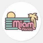 Miami Pegatina