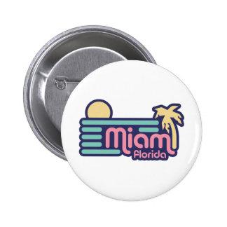 Miami Pinback Button