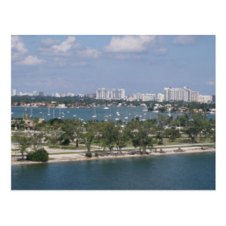 Miami Port Postcard