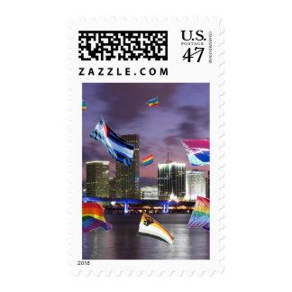 Miami Pride Postage Stamp