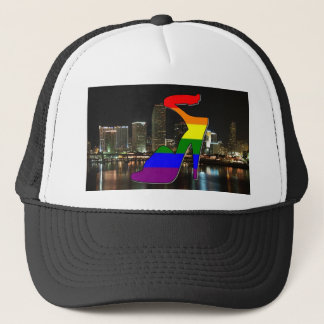 Miami Pride Trucker Hat