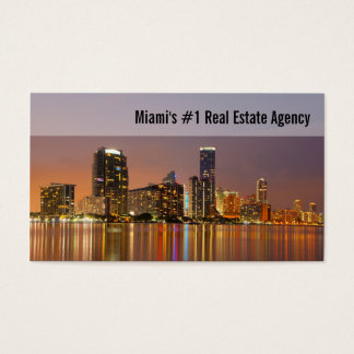 Miami Real Estate Business Card