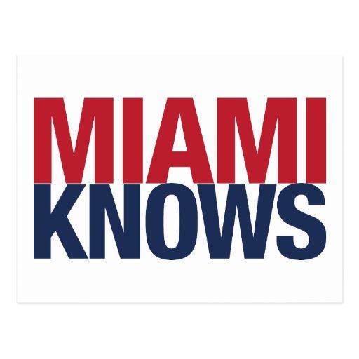 Miami sabe postales