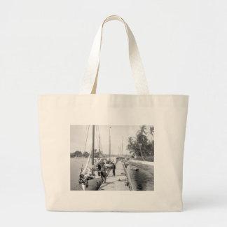 Miami Sailboats 1905 Tote Bag