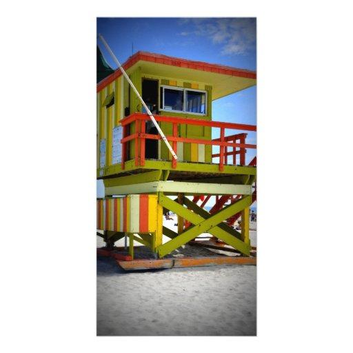 Miami Shack Customized Photo Card