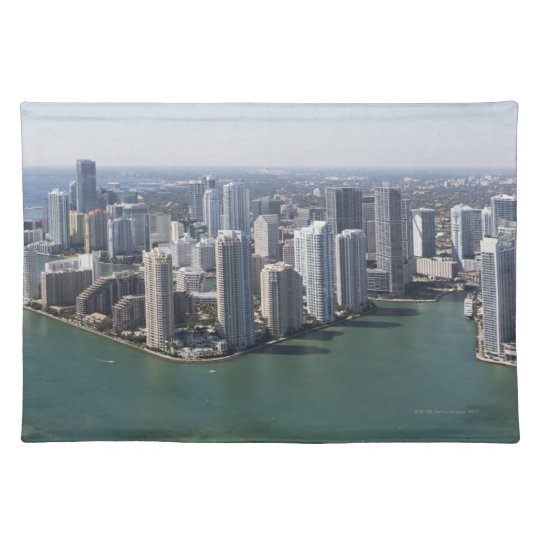 Miami Skyline 2 Placemat