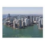 Miami Skyline 2 Post Cards
