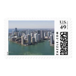Miami Skyline 2 Postage