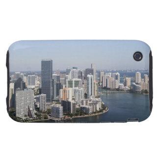 Miami Skyline 3 iPhone 3 Tough Cases
