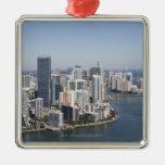 Miami Skyline 3 Ornament