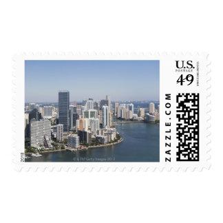 Miami Skyline 3 Postage