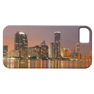 Miami Skyline at Dusk iPhone 5 Case