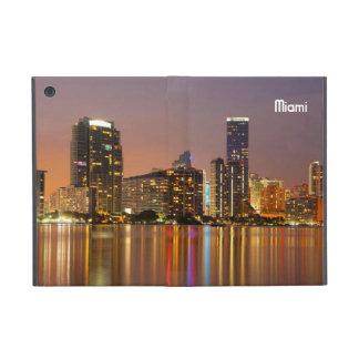 Miami Skyline at Dusk Covers For iPad Mini