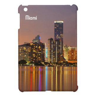 Miami Skyline at Dusk iPad Mini Cases