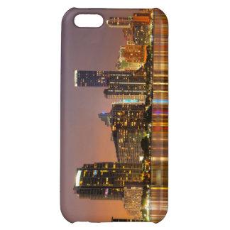 Miami Skyline at Dusk iPhone 5C Cases